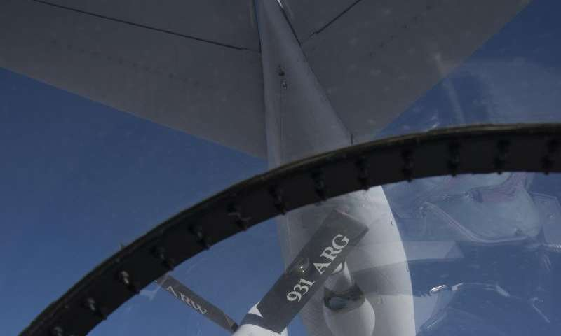 Image: View from an F-15D