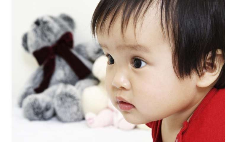 Infants develop feelings about those who are like them and different from them at an early age