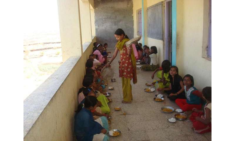 Iron deficiency in children resolved by biofortified pearl millet