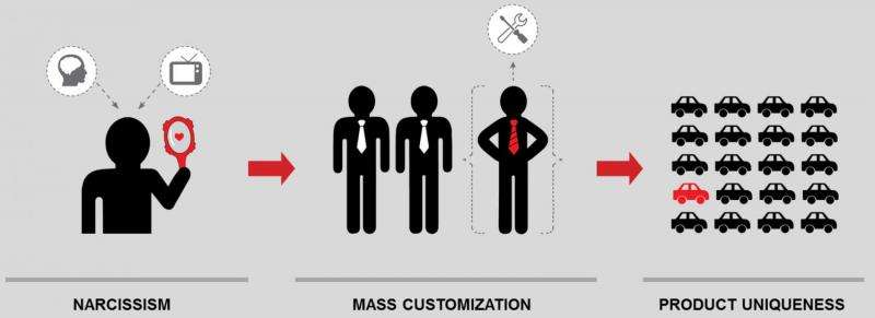 It is about 'me': Narcissism and mass-customized products