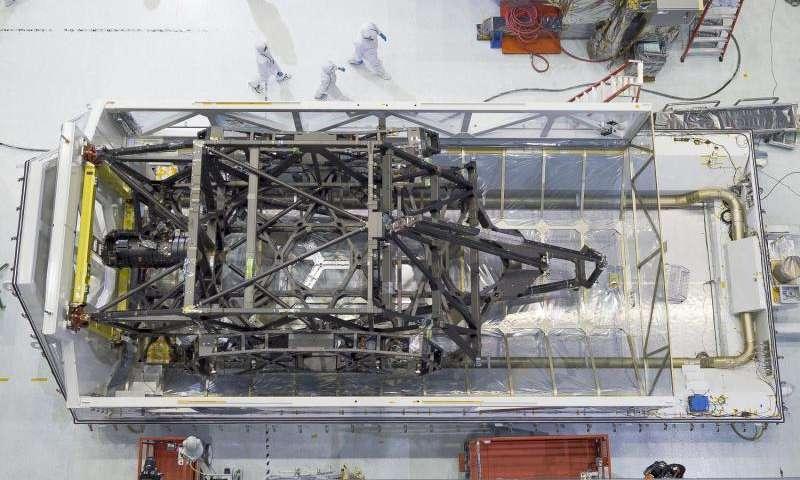James Webb Space Telescope backplane arrives at NASA Goddard for mirror assembly