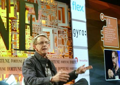 John Doerr of the equity firm Kleiner, Perkins, Caufield & Byers, speaks at the Fortune Brainstorm Tech Conference in Aspen,