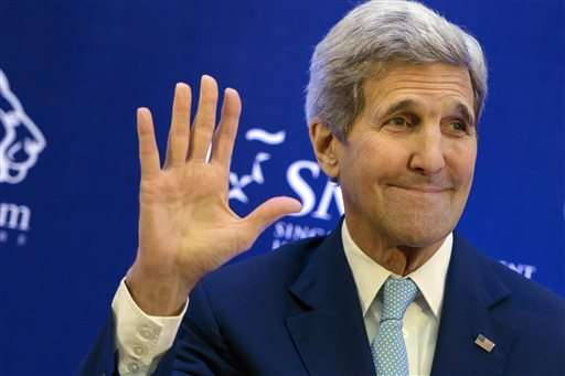Kerry, Obama to raise global warming issues in Alaska