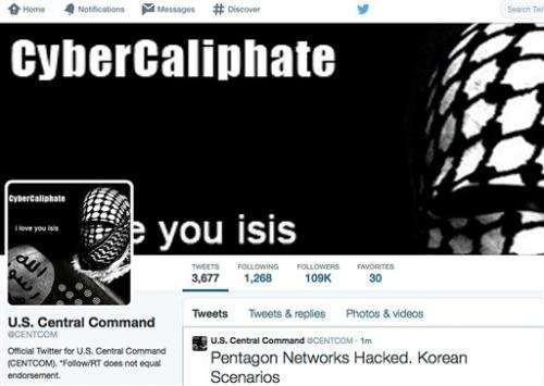 Key US military command's Twitter, YouTube sites hacked