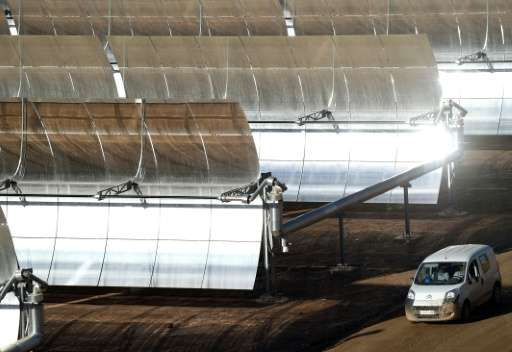 King Mohamed VI launched construction of the solar plant, called Noor 1, in 2013, at a cost of 600 million euros ($660 million)