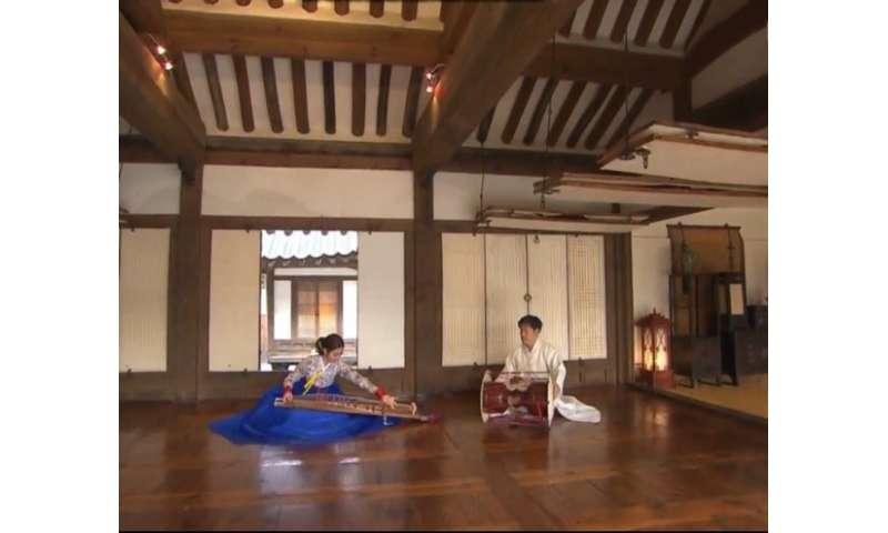 Korea's 'Hanoks' display acoustic excellence