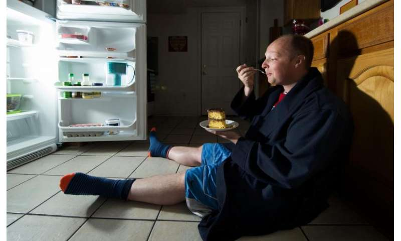 Late-night snacking: It it your brain's fault?