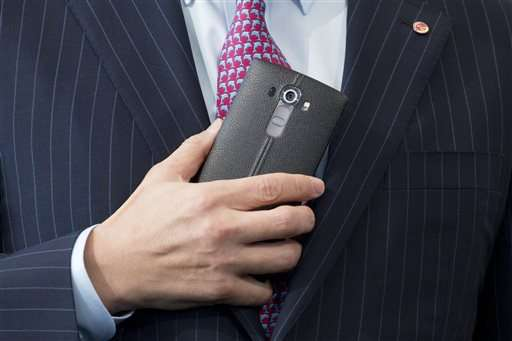 LG's new G4 phones will have leather backs
