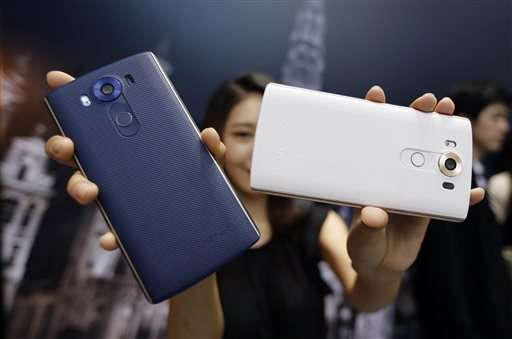 LG unveils smartphone with dual display, improved camera
