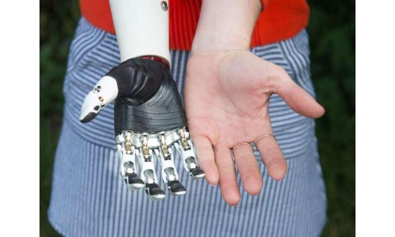 Lifelike bionic hand functions via 14 precision grips