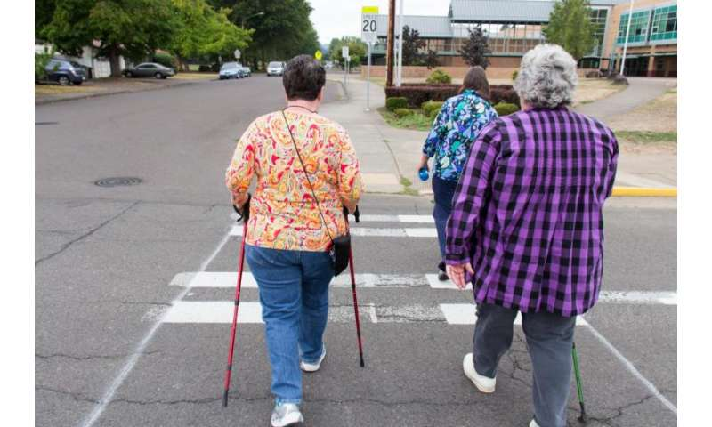 Light-intensity exercise could prove beneficial to older adults, new research shows