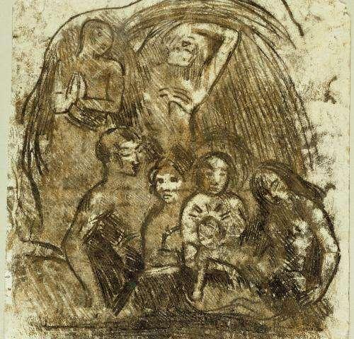 Light reveals new details of Gauguin's creative process