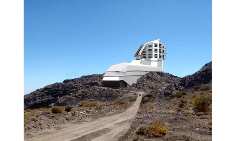 LSST lays first stone