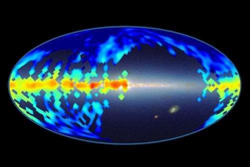 Map of mysterious molecules in galaxy sheds new light on century-old puzzle