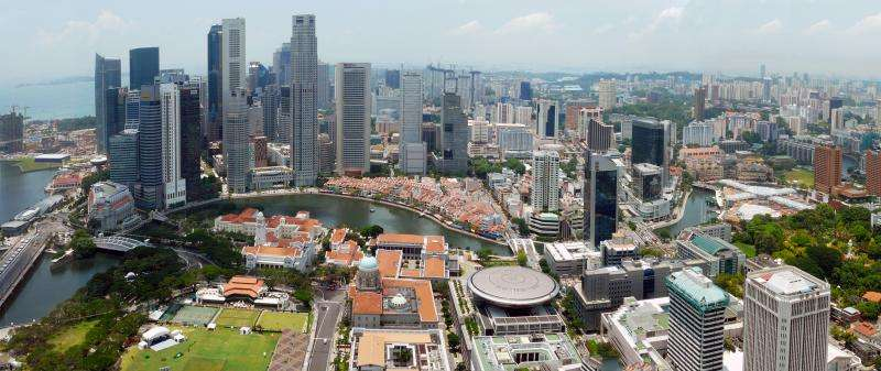 Mapping Singapore''s urban heat island phenomenon