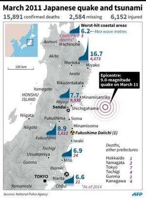 March 2011 Japanese quake and tsunami