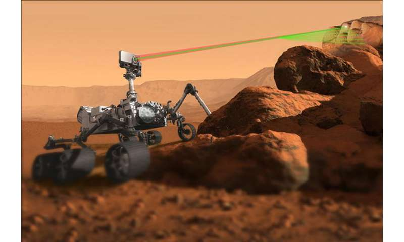 Mars rover's ChemCam instrument gets sharper vision
