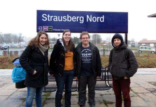 Mathematics student visit all S-Bahn stations in Berlin by fastest route