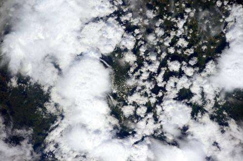Measuring clouds and aerosols from the space station
