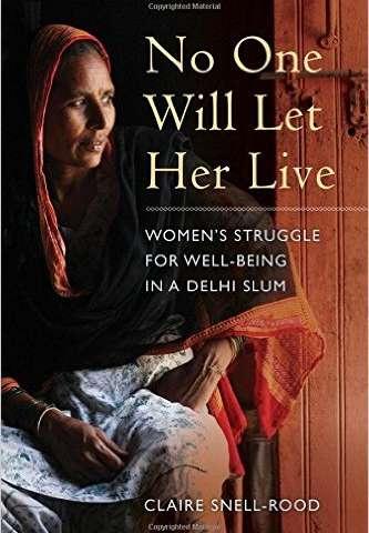 Medical anthropologist publishes book based on observations of women in Delhi slum