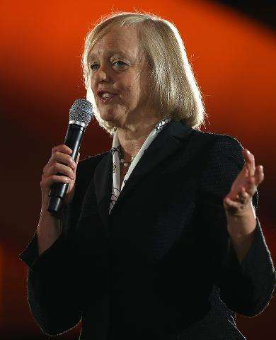 """Meg Whitman, HP's chairman and chief executive, says the firm is """"making a bold move"""" to succeed in China"""