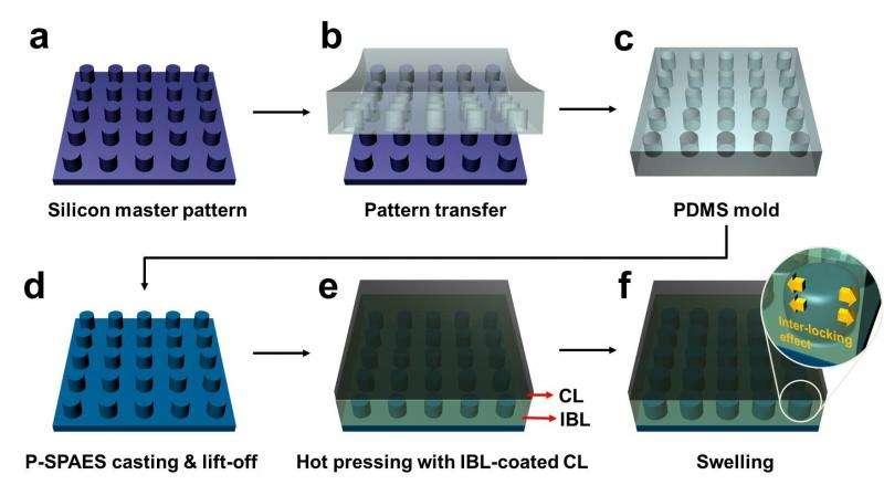 "Membrane ""nano-fasteners"" key to next-generation fuel cells"