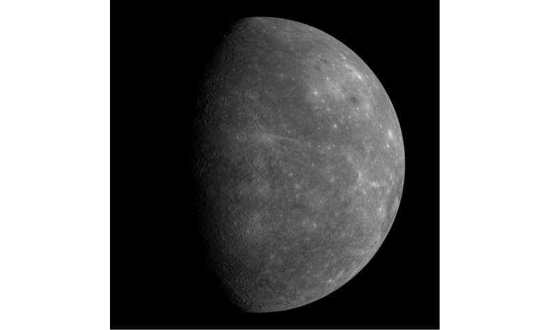 Mercury's movements give scientists peek inside the planet