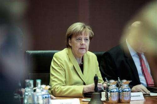Merkel website hacked ahead of visit by Ukrainian premier