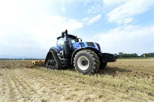 Methane-powered tractor could cut farmers' costs, emissions
