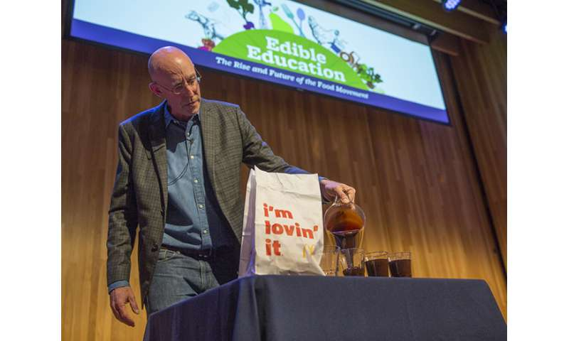 Michael Pollan on the California drought and U.S. food policy