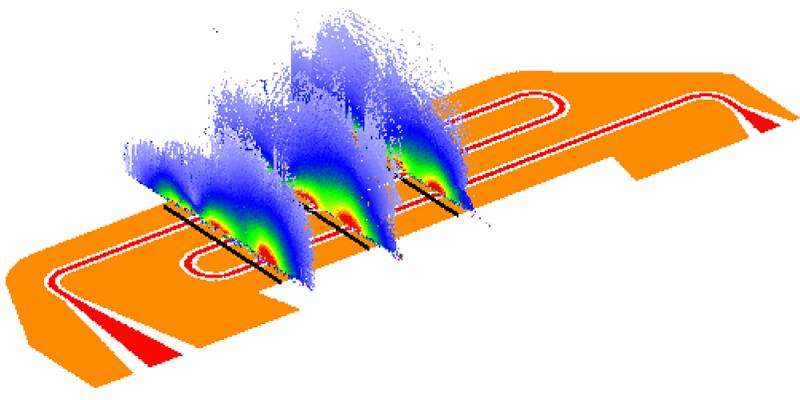 Microwave field imaging using diamond and vapor cells