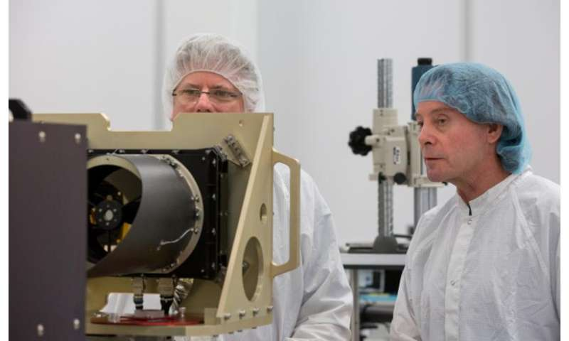 Million-mile journey to an asteroid begins for ASU-built instrument