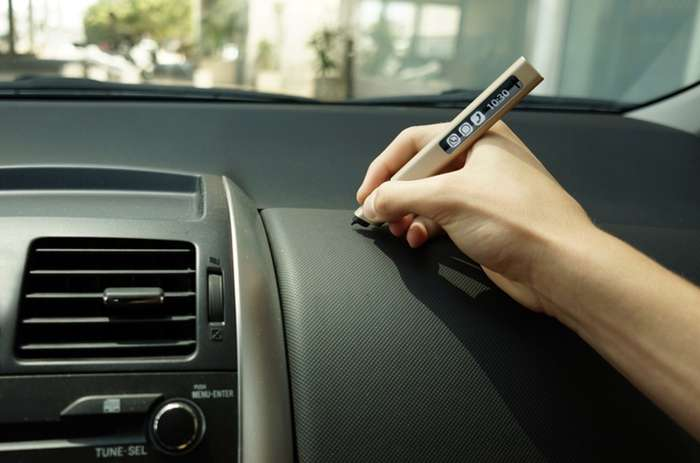 Mobile input device Phree invites you to jot, sketch, take notes