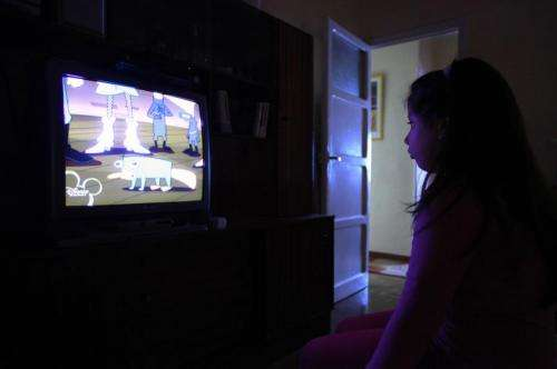 More than 2 hours of TV a day increases high blood pressure risk in children by 30 percent