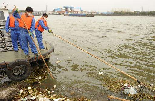 Mounting pressure on China's scarce, unequally distributed and often highly polluted water supply has been highlighted in a repo