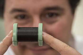 Nanotube fibers being tested as a way to restore electrical health to hearts