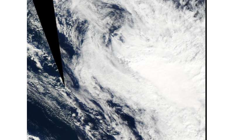 NASA catches Tropical Cyclone Solo dissipating