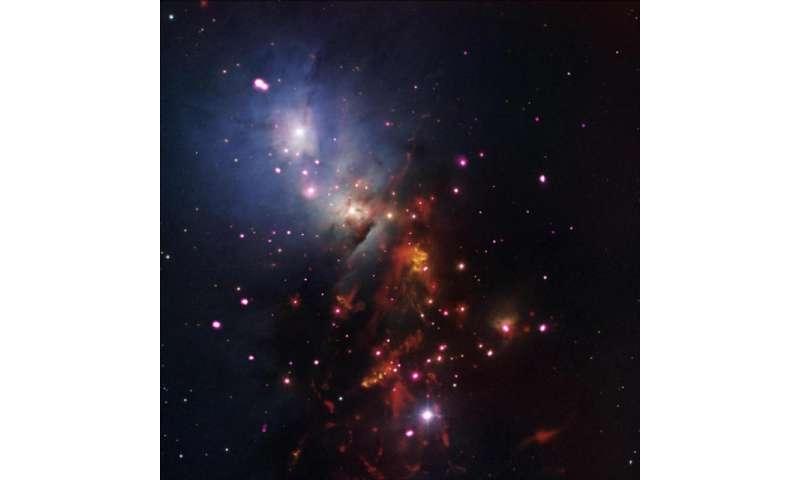 NASA image: Stellar sparklers that last