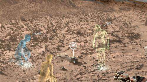 NASA, Microsoft collaboration will allow scientists to 'work on mars'