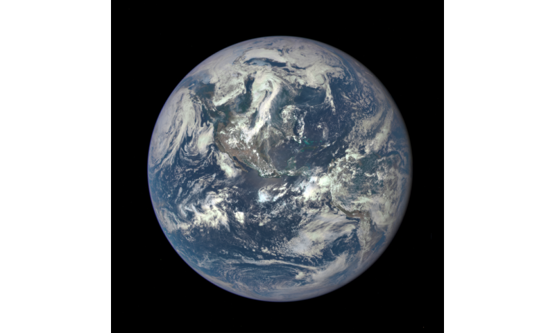 NASA satellite camera provides 'EPIC' view of Earth