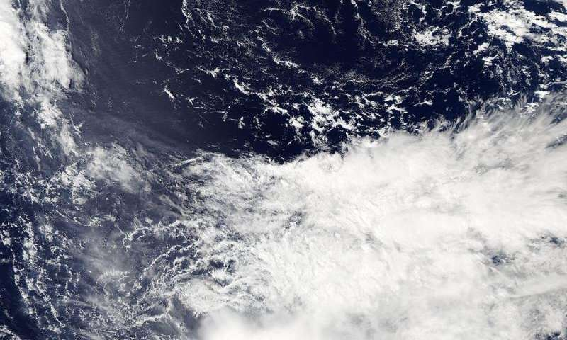 NASA sees a somewhat shapeless Tropical Storm Ida