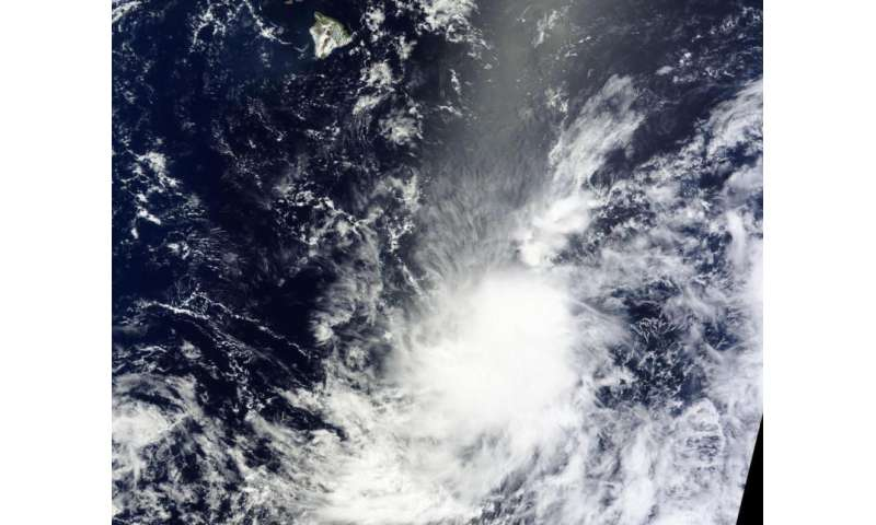 NASA sees development of Tropical Storm Kilo
