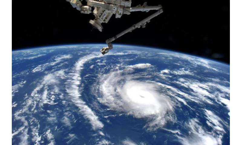 NASA sees diminutive Hurricane Danny from space