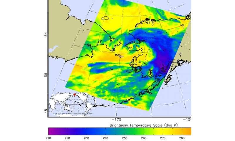 NASA sees former Typhoon Atsani's remnants affecting Alaska