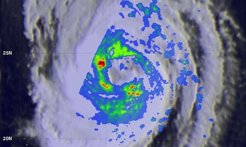 NASA's GPM reveals very strong thunderstorms in Typhoon Choi-Wan
