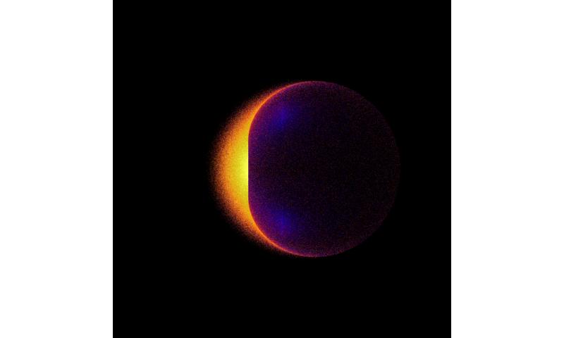NASA simulation suggests black holes may make ideal dark matter labs