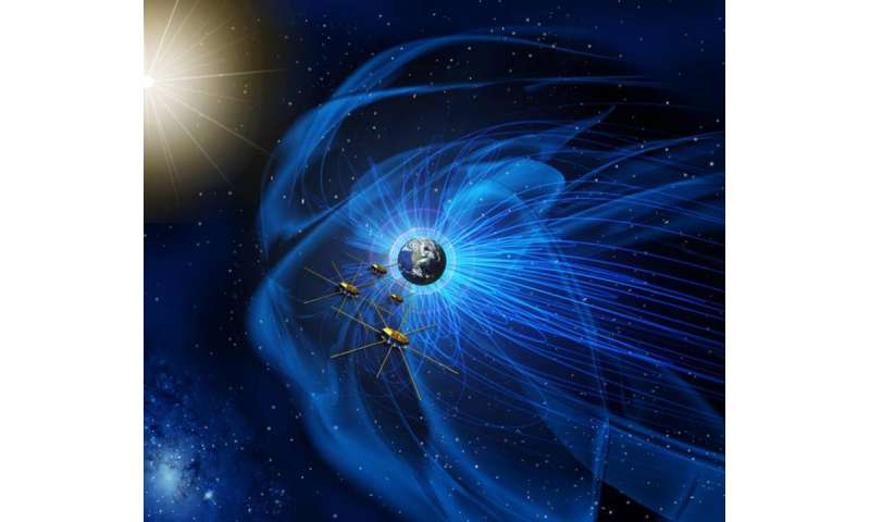 NASA's MMS spacecraft achieve tightest flying formation ever