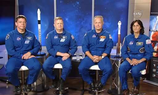 NASA's new commercial crew astronauts: Each wants to fly first
