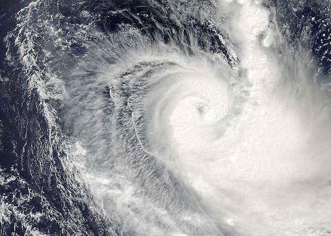 NASA spots an eye in fast-developing Cyclone Ikola