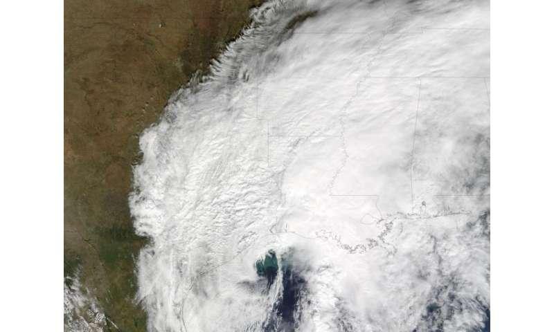 NASA tracks Hurricane Patricia's remnants through Gulf states
